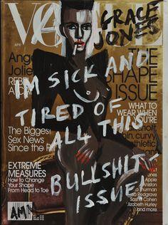 Andrea Mary Marshall, Vague Cover: Grace Jones