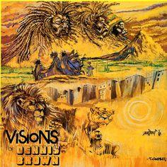 DENNIS BROWN - Visions Of Dennis Brown ℗ 1978, Joe Gibbs Records