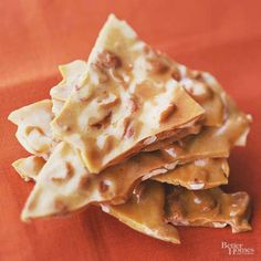 This candy recipe has been a classic for generations. Crackly peanut brittle sticks to your teeth for enjoyment even after you're done eating./