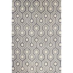 Showcasing a tessellated geometric motif, this artfully hand-tufted wool rug offers a perfectly patterned pop of style for your floors.   ...