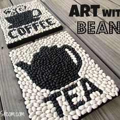 How to creating Art With Beans – DIY,Health and fitness Diy Projects To Try, Crafts To Make, Fun Crafts, Craft Projects, Crafts For Kids, Arts And Crafts, 4 H Projects For Teens, Decor Crafts, Cool Art Projects