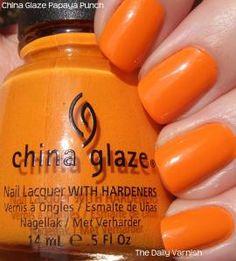 China Glaze Papaya Punch