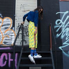 Perfect the art of self-expression in Geometric socks. The bold, precise shapes overlap for an eye-catching look, designed to amaze. Women's Socks, Happy Socks, Fall Winter, Dress Up, Collection, Color, Design, Fashion, Moda
