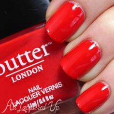 Opaque, tomato red nail lacquer | This fiery hue is ruling the catwalk! Grab our exclusive Fashion Week shade and rock it in red.