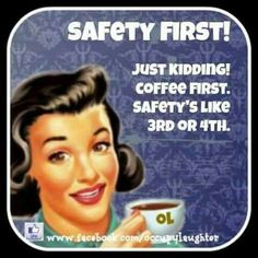 Be safe, of course, but coffee first! newyorkgourmetcoffee.com