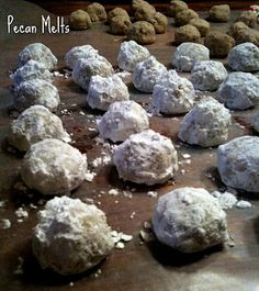 Yum...these are good, melt in your mouth, and only 4 basic ingredients!