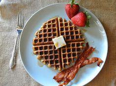 Best paleo gluten free waffles! #paleo #glutenfree #dairyfree