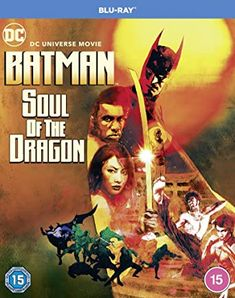Batman: Soul of the Dragon Blu-Ray 2021 Region Free: Amazon.co.uk: DVD & Blu-ray Batman Cartoon Movies, Lady Shiva, Michael Chiklis, Bruce Greenwood, Batman Story, Amazon Dvd, Kelly Hu, Enter The Dragon