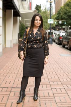 Almamia, 34, Portland Oregon - Account Manager #fashion #professional #work #LookThePart | University of Phoenix