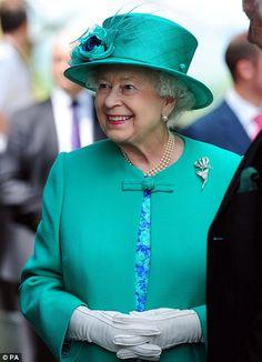 Queen Elizabeth II visit Cumbria..  7/17/2013