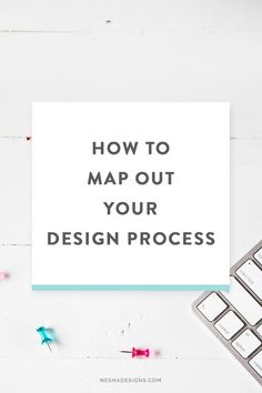 Do you want your design process to go quicker? Do you want to really impress your design clients? It's time to organize and streamline your web & graphic design process! Click through to learn how to map out your step by step design process.
