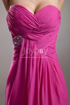 fuschia bridesmaid floor length dresses size 12   Sweetheart Floor Length Chiffon Column Fuschia Long Prom Dress 2013