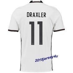 978867ac5af Julian Draxler 11 UEFA Euro 2016 Germany Home Jersey