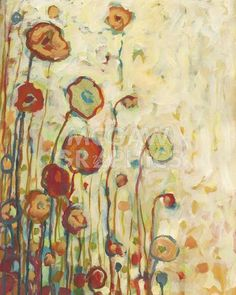 Jennifer Lommers - Poppies at Sunset