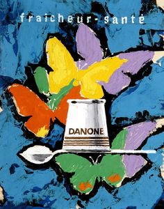 Danone by Paul Gabor 1960s