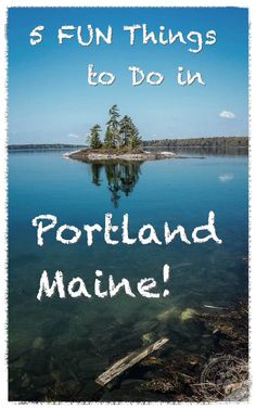 Portland Maine is a great spot for a getaway weekend. Here are 5 fun things to do while visiting! East Coast Travel, East Coast Road Trip, New England Fall, New England Travel, New Hampshire, Rhode Island, Massachusetts, Vermont, Maine Road Trip