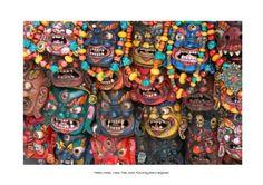 Tibetan Masks