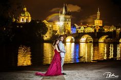 Pre wedding photos in Prague with Rika and Stan