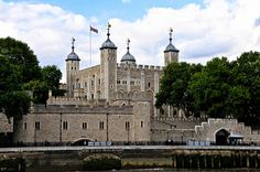London Tower Castle and White Tower with Traitor's Gate Entrance - London England by mbell1975 on Flickr.