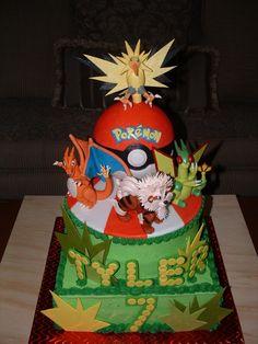 pokemon cake,WOW