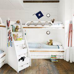 20 Fabulous Beach House Bunk Rooms