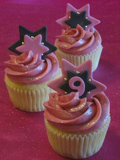 Rock Star 9th Birthday Party by cupcakesnouveau, via Flickr