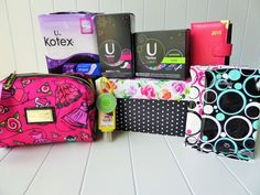 Home Period Starter Kit. Perfect for tween/teens who's entering puberty.At Home Period Starter Kit. Perfect for tween/teens who's entering puberty. School Emergency Kit, Emergency Kit For Girls, School Survival Kits, Emergency Kits, Period Kit, Period Hacks, Period Starter Kit, Survival Kit Gifts, Teenager