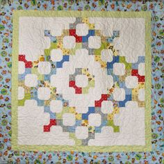 Charming Bow Ties Quilt Pattern CTG-131 (advanced beginner, lap and throw, twin)