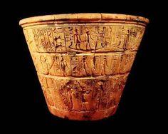 Clepsidra o reloj de agua de Karnak, siglo XIV a.C.