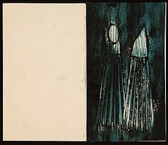 Citation: Karl F. Cohen christmas card of a salt and pepper shaker, ca. 1962 . Prentiss Taylor papers, Archives of American Art, Smithsonian Institution.