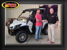 Thanks to Zach McMillan from Foxworth MS for getting a 2014 Can Am Commander XT 1000 Limited. @HattiesburgCycles