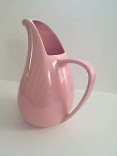 Vintage California Pottery Pitcher Vernonware by VintageRenude, $35.00