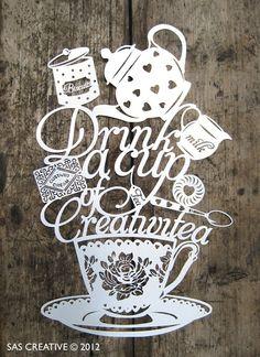 Samantha's Papercuts: Creativitea