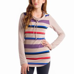 Lole Principle Tunic - Womens - at Outdoormountainspirit.com Long Sleeve Tunic, Long Sleeve Tops, Weather Seasons, Fall 2015, Organic Cotton, Cold Shoulder Dress, How To Wear, Color, Collection