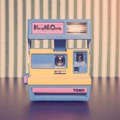 Cámara Polaroid Kodomo No Omocha Rehabilitada por Alan Prodanov Colección Privada My Vintage Shoot www.myvintageshoot.com
