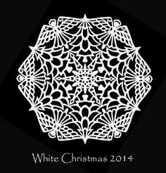 The Quilt Rat: Making Snow. Snowflake Cutouts, Paper Snowflakes, Snowflake Designs, Snowflake Pattern, Christmas Snowflakes, Snowflake Ornaments, Paper Cutting Patterns, Christmas Paper Crafts, Christmas Decor