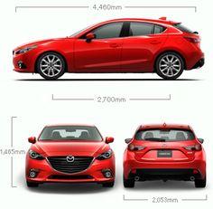 MAZDA Mexico > Vehiculos > Especificaciones:MAZDA3 hatchback 2016