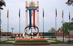 Tulip Tower ... In Pella, Iowa, my home town.