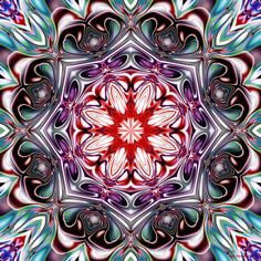 Kaleidoscope Tile by *fractalfiend on deviantART