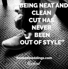Keep your #groom #style neat and clean