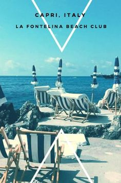 La Fontelina Beach Club is a must when you visit the Amalfi Coast! #amalficoast #wanderlust #travel