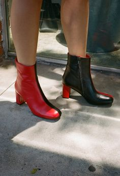Agnes Two Tone Boot