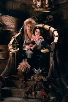 You remind me of the babe. David Bowie Labyrinth, Labyrinth 1986, Labyrinth Movie, Labyrinth Goblins, King Costume, Labrynth, Romantic Comedy Movies, Tv Show Music, Goblin King