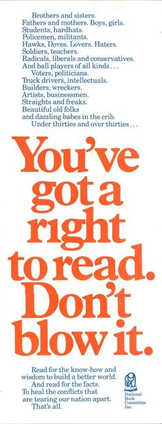 You've Got a Right to Read