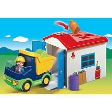 Playmobil 1.2.3. - Camion et garage - 6759