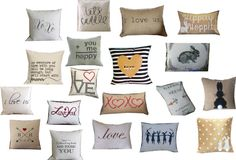 february march pillows
