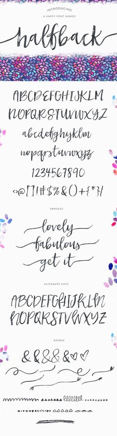 Tattoo Fonts For Girls Cursive Writing Lettering Ideas Lettering Brush, Hand Lettering Fonts, Brush Script, Creative Lettering, Typography Fonts, Lettering Styles, Lettering Tattoo, Lettering Tutorial, Monogram Fonts