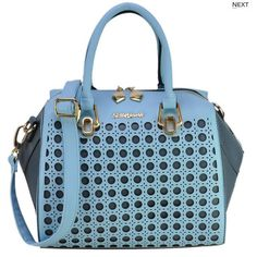 Sally Young Hallow Out Bowler Handbag | Bling By Shauna #accessorizeme #handbag #sallyyoung