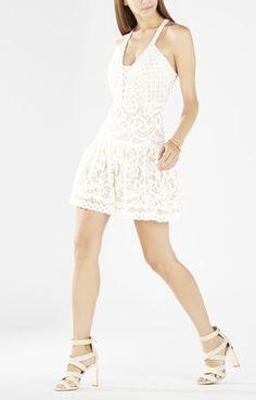 Carlita Sleeveless Lace Dress