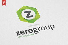 Zero Group Logo by ft.studio on @creativemarket